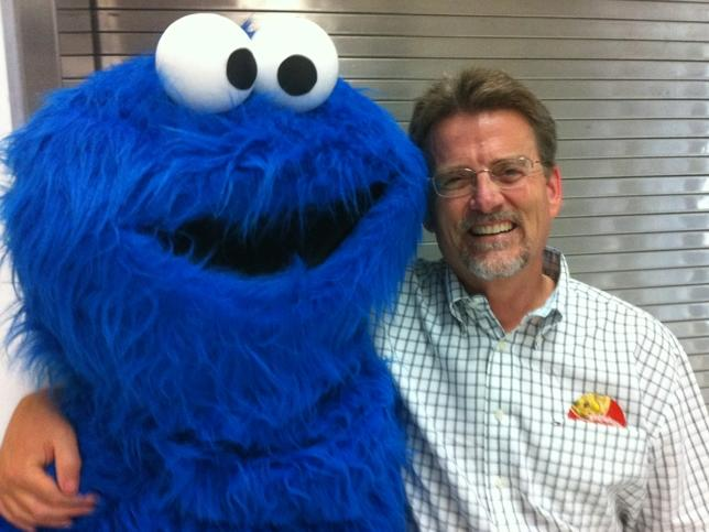 cookie monster and Rich